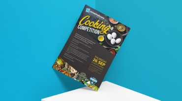 Cooking Competition Poster