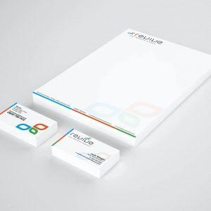 Revive Letterhead & Business Cards